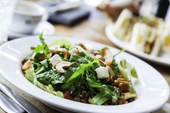 Restaurant avec une bonne salade à emporter