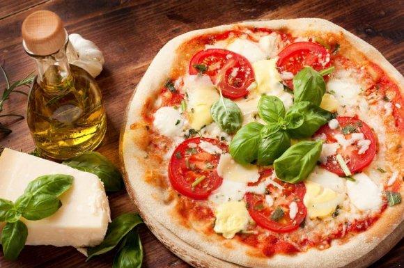 Restaurant pizzeria pour manger une pizza avec pâte maison